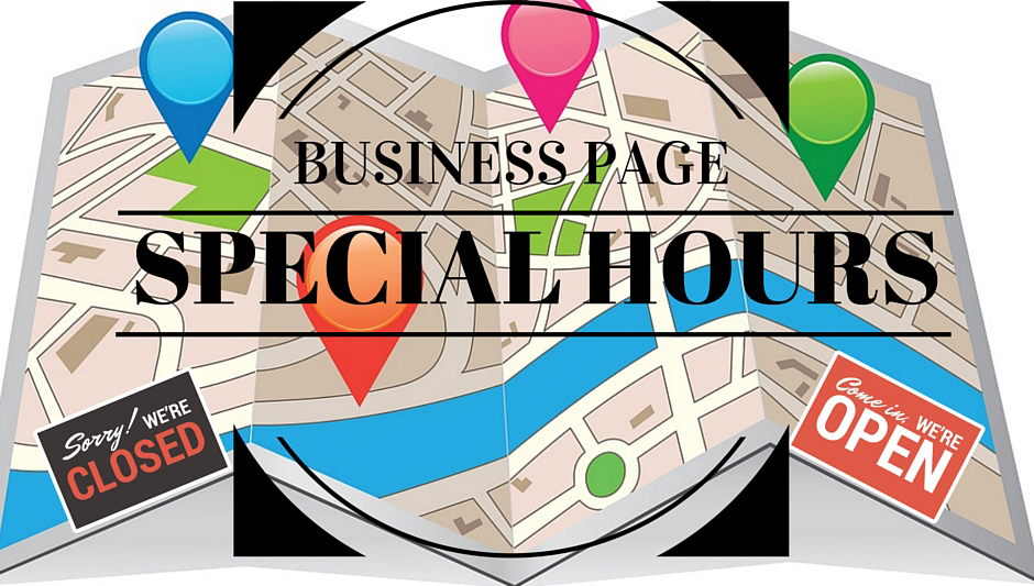 Business pages special hours
