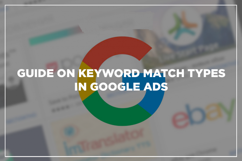 Keyword match guides