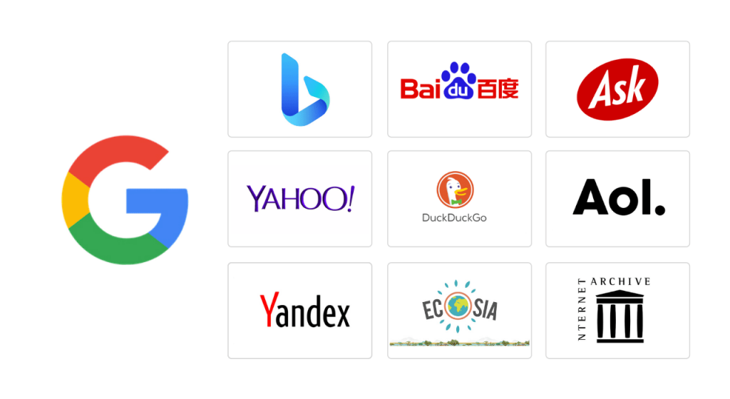 Top search engines